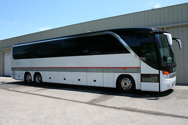Tampa 56 Passenger Charter Bus